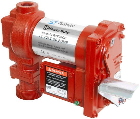 насос для перекачивания авиационного топлива Tuthill FILL-RITE FR1205CE 12В, 55 л/мин